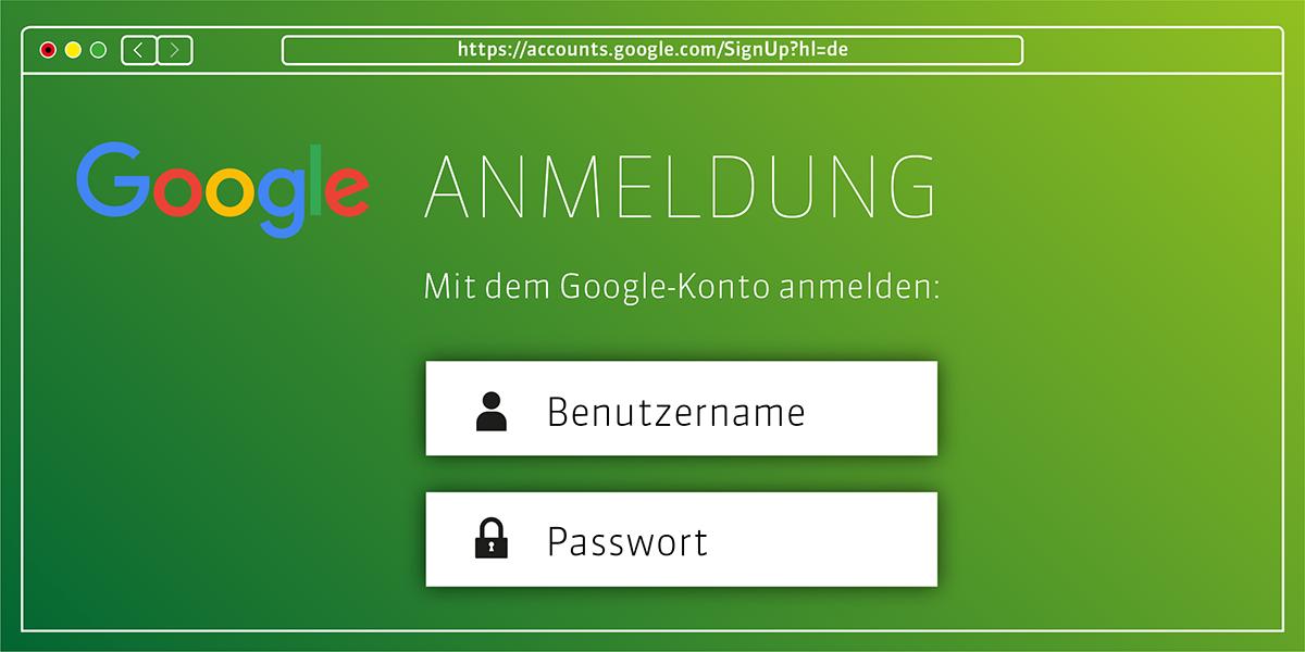 Ihr Google-Account: Der Schlüssel zu zahlreichen Google-Diensten